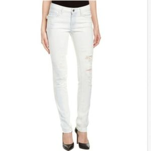 Zadig and Voltaire White Skinny Jeans Size 27